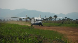 Air transport to Namoya